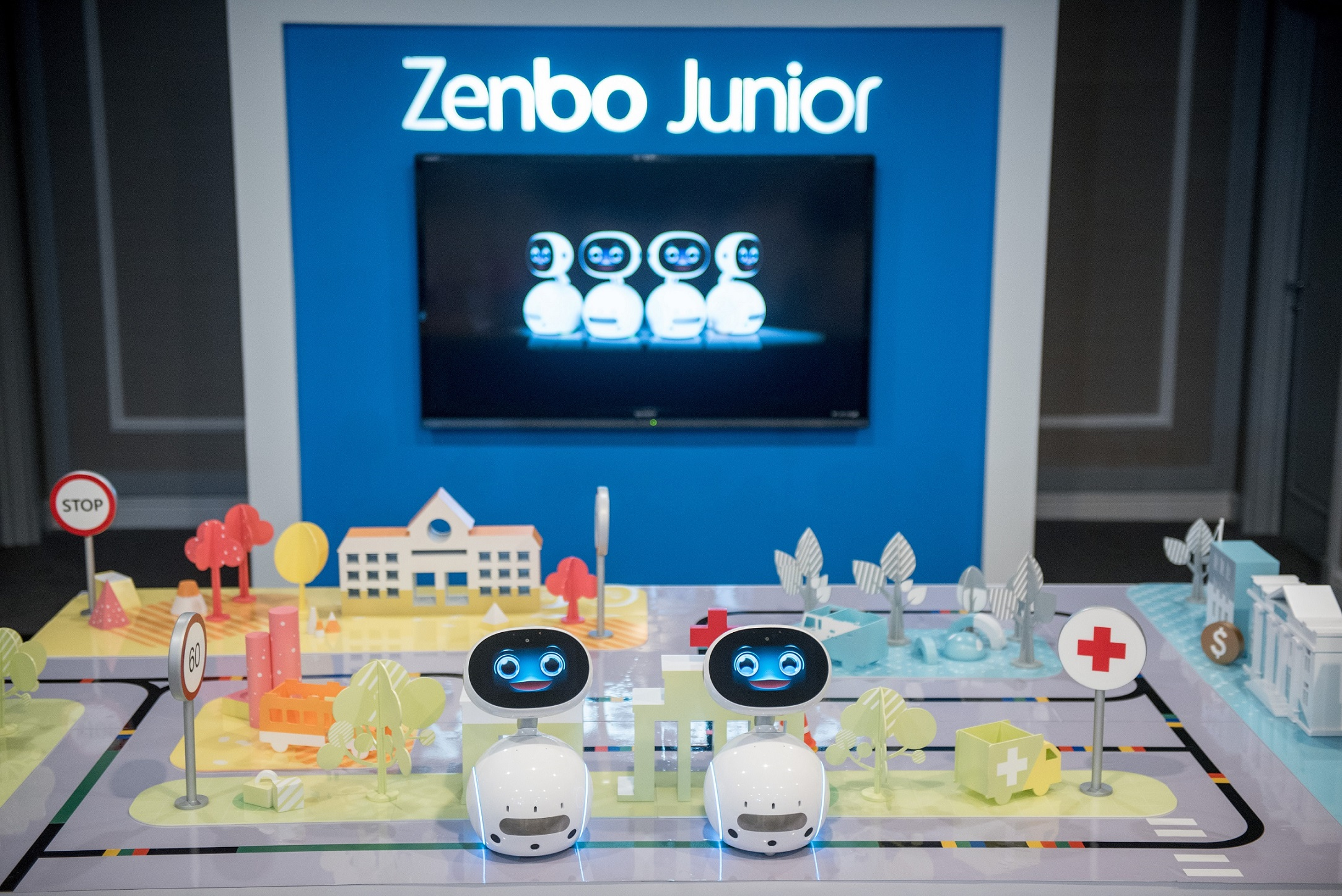Zenbo Junior is a new AI-enabled robotics platform that allows developers, system integrators and business partners to create flexible and easily manageable robotics solutions to improve business operations and customer experiences